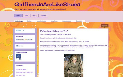 Girlfriends Are Like Shoes