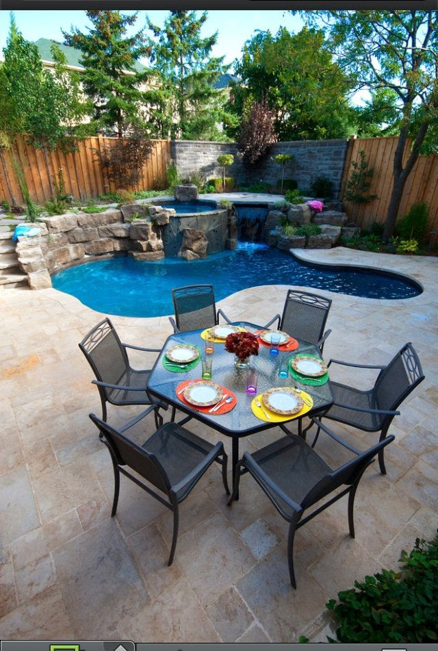 Great ideas for small backyards