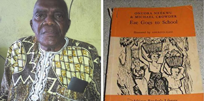 Author of Eze goes to school