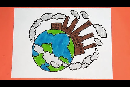 10+ Best For Easy Save Earth Air Pollution Drawing