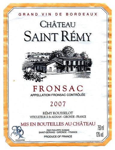 Fronsac 2007