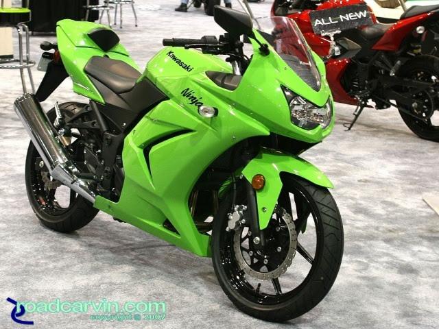 2007 Cycle World Ims 2008 Kawasaki Ninja 250r Side