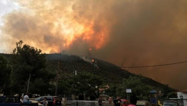 Κάηκαν σπίτια στη Θάσο – Τραυματίστηκε πυροσβέστης – Εγκλωβίστηκαν από τη φωτιά βουλευτές του ΣΥΡΙΖΑ! (άκου εκεί εγκλωβίστηκαν…)