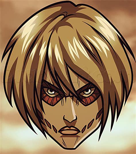 draw female titan easy step  step anime