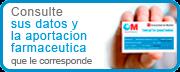 Consulte sus datos y la aportación farmaceutica que le corresponde