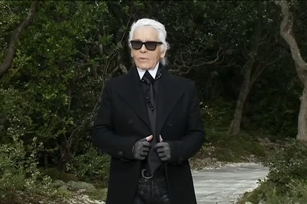 8c3826514f4f7 Fashion designer Karl Lagerfeld of Chanel dies