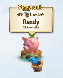 Piggy Bank - FarmVille 2