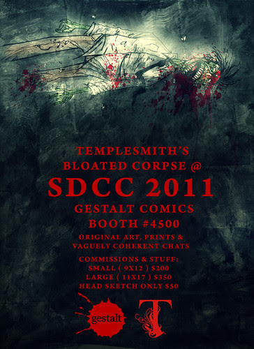 Templesmith is actually going to be at SDCC 2011