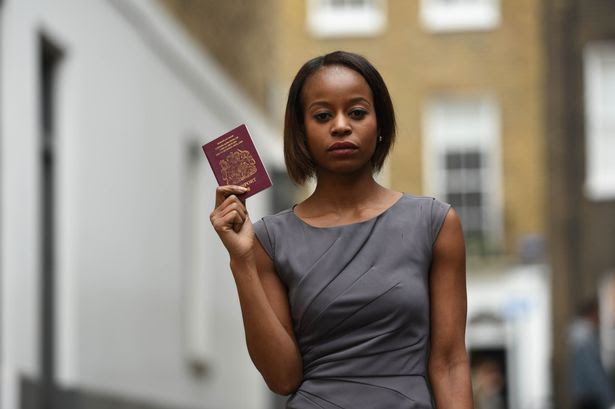 Fashion stylist Bridget Nhire, 33, who's been banned from travelling on BA flights