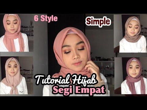 VIDEO : hijab segi empat simple sehari-hari (6 style) - hi there! aku harap kalian suka samahi there! aku harap kalian suka samatutorial hijabsegi empat nya dan kalian juga bisa coba pakai buathi there! aku harap kalian suka samahi there! ...