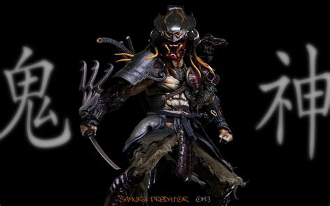 predator wallpaper    samurai predator hd wallpapers