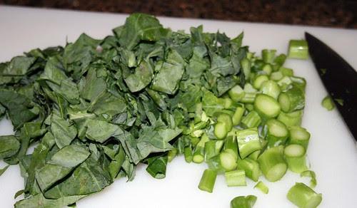 Chopped gailan