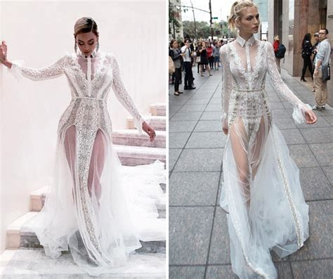 So Beyonce Wore A Wedding Dress To The Grammys   Look