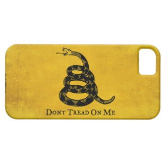 Gadsden Vintage Flag iPhone Case