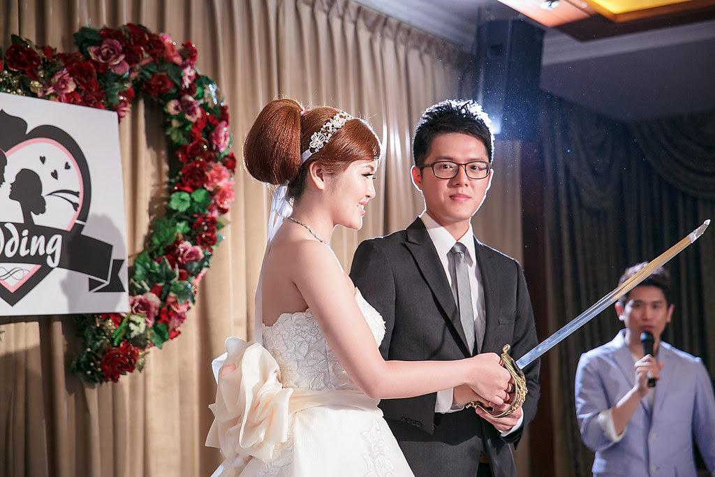 學誠&尹宣 浪漫婚宴 (75)