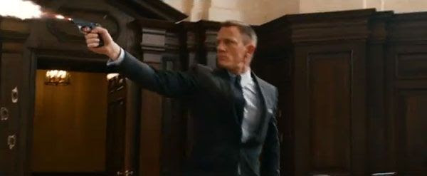 Daniel Craig is back as James Bond in this November's SKYFALL.