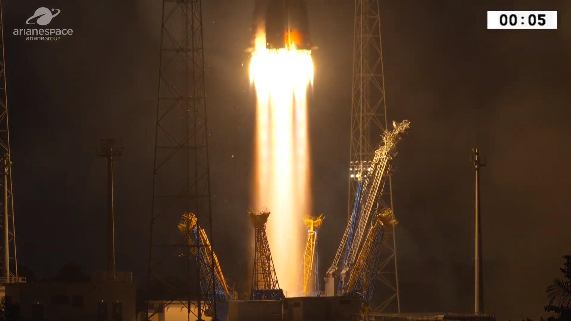 Watch live @ 8:30 pm ET Tuesday: Soyuz rocket launching UAE's FalconEye 2 satellite #rwanda #RwOT Wentz