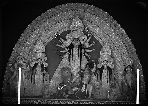 Durga Puja Bandra by firoze shakir photographerno1
