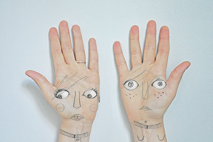 in my own two hands