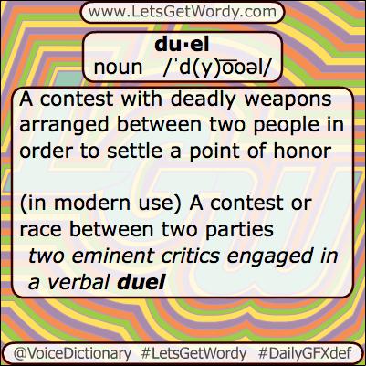 Duel 07/11/2013 GFX Definition