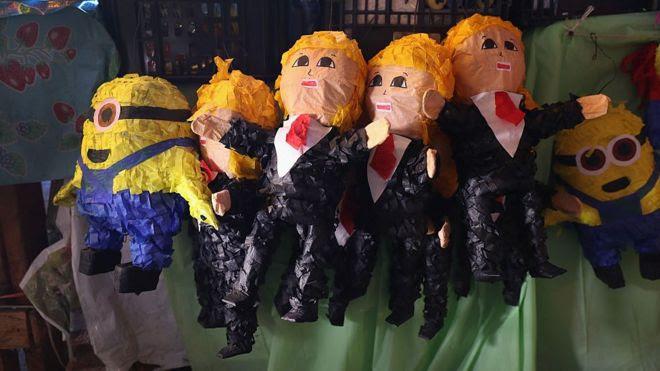 Piñata de Trump