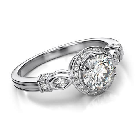Engagement rings for women. The Promising engagement rings