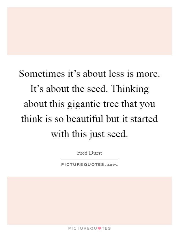 Less Is More Quotes Sayings Less Is More Picture Quotes