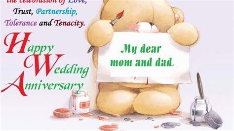 happy marriage/wedding anniversary to mom and dad wishes