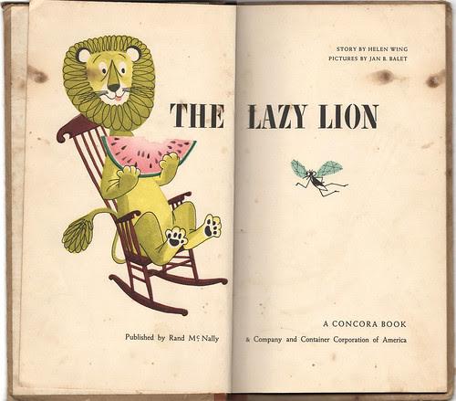 The Lazy Lion 1
