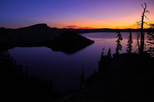 IMG_1911L Crater Lake at Dawn, Crater Lake National Park