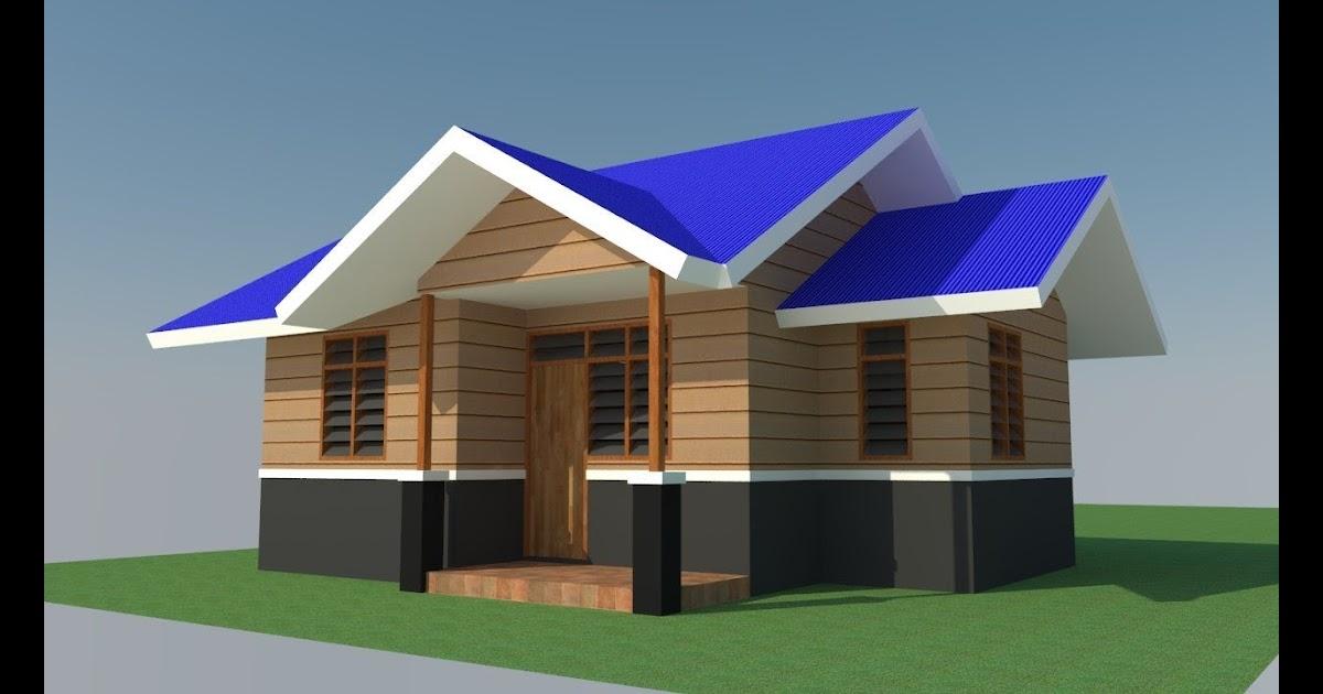 Desain Rumah Sederhana Semi Permanen