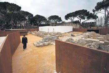 O núcleo arqueológico foi hoje apresentado