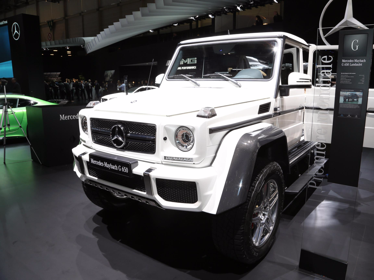 ... The limited production G650 Landaulet,...