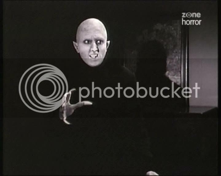 Steve Painter as the vampire