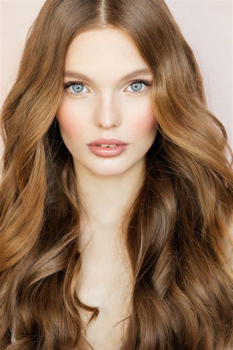 striking shades  honey brown hair