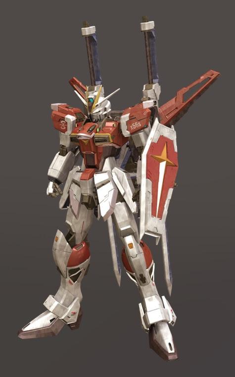mobile suit gundam seed Impulse zgmf x56s 3d mesh cg sandrum sword