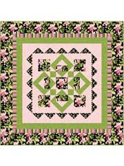 Summer Blooms with Passion Quilt Pattern