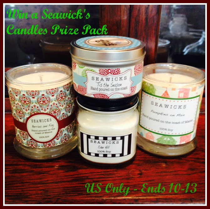 Seawicks Candle Prize Pack