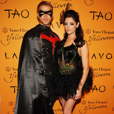 Ashley Greene and Kellan Lutz - Stars on Halloween 2009