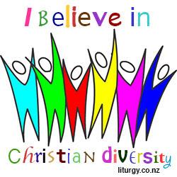 I belive in Christian diversity