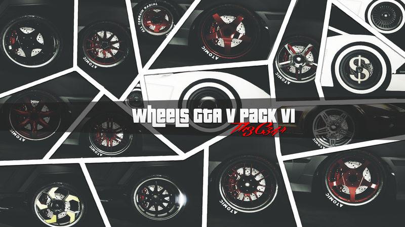 Gta San Andreas Wheels Gta V Pack V1 Mod Gtainside Com