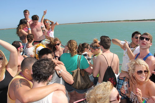 At the Booze Cruise by SouthPadreSpringBreakInertiaTours