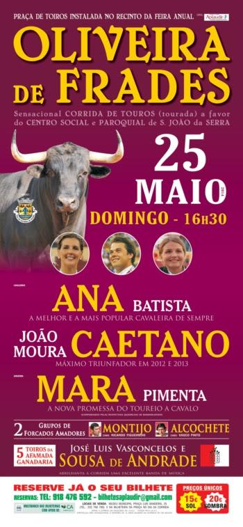 Cartaz da Corrida em Oliveira de Frades