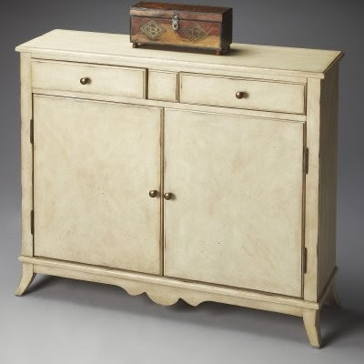 Butler Console Cabinet - Paraffin - modern - bathroom vanities and ...