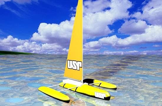 Brasileiros constroem barco não tripulado para monitorar meio ambiente
