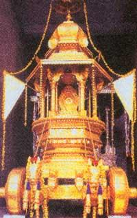 udupi Krishna golden ratha, ಉಡುಪಿ ಕೃಷ್ಣ ಸುವರ್ಣ ರಥ