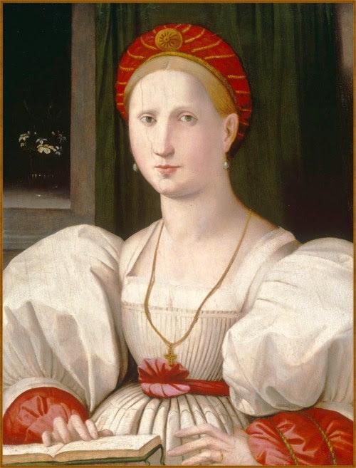 1c Paolo Zacchia il Vecchio (the elder) (1519-1561) Portrait of a Woman with a Book