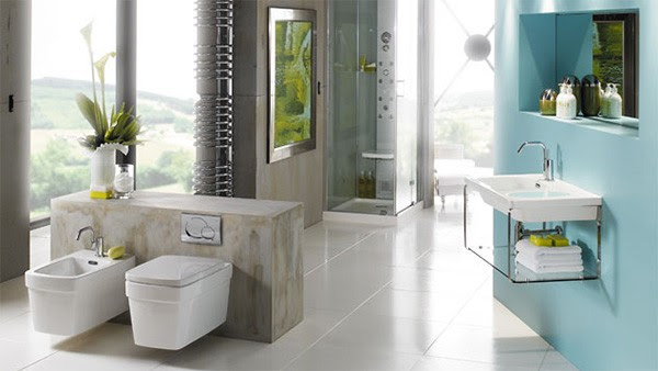 Bathroom Idea from Jacuzzi with shower system Essteam - Let there ...