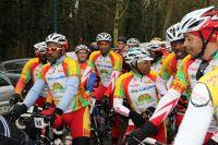 Les cyclos antillais au départ de la Jacques Gouin