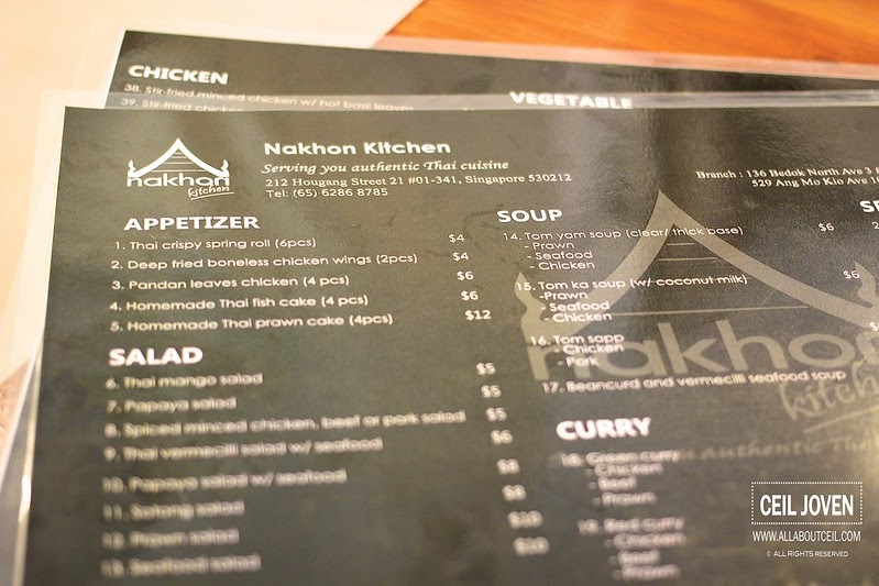 All About Ceil Nakhon Kitchen In Ang Mo Kio
